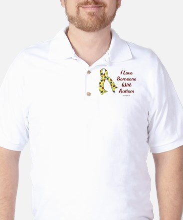 Autism Love Golf Shirt