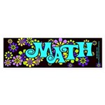 Mathadelic Surf Bumper Sticker