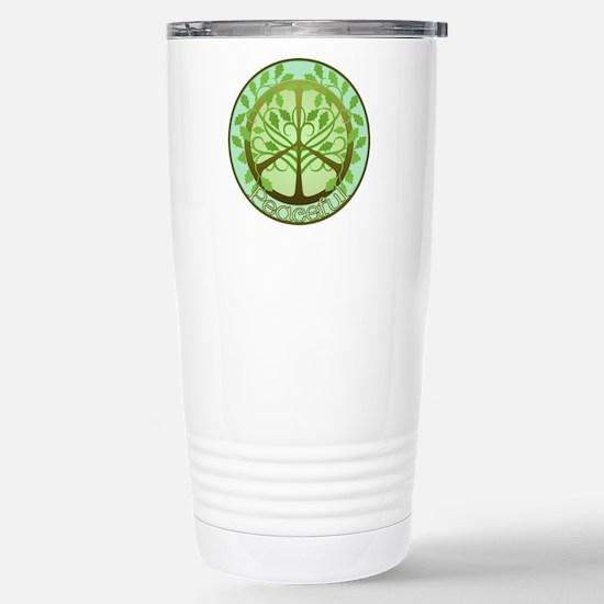 Peaceful Tree Stainless Steel Travel Mug
