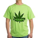 Above the ignorance of government funded Green T-Shirt