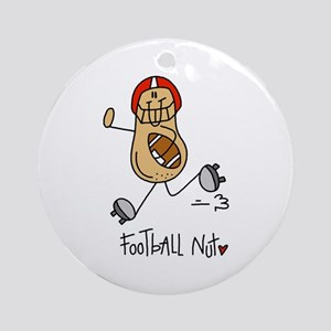 Football Nut Ornament (Round)