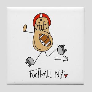 Football Nut Tile Coaster
