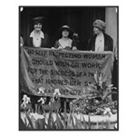 No self-respecting woman . . Alice Paul Poster