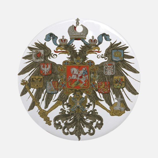 Romanov Dynasty Ornament (Round)