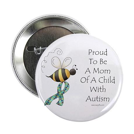 "Autism Mom 2.25"" Button"