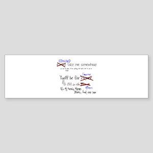 Love Story Bumper Sticker