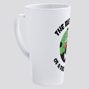 Cat Lover Christmas Blessings Funn 17 oz Latte Mug
