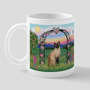 Rose Arbor / Siamese Mug