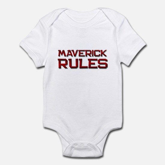 maverick rules Infant Bodysuit