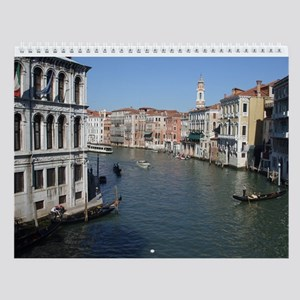 Venice Italy Wall Calendar