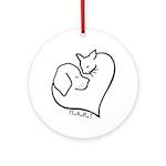 HART logo Round Ornament
