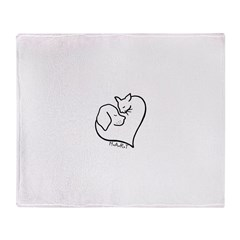 HART logo Throw Blanket