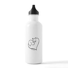 HART logo Water Bottle