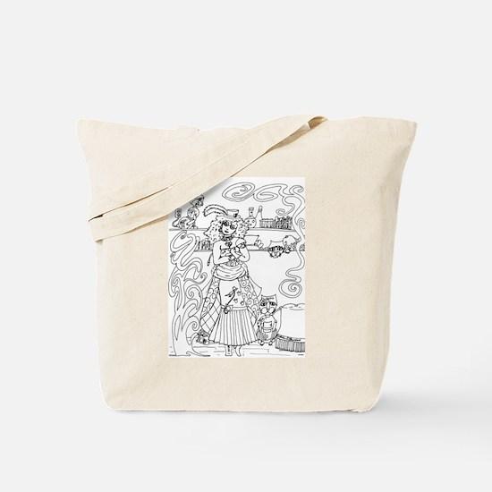 Crazy Cat Lady - Steampunk Tote Bag