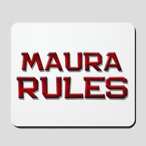 maura rules Mousepad