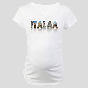 Italian pride Maternity T-Shirt