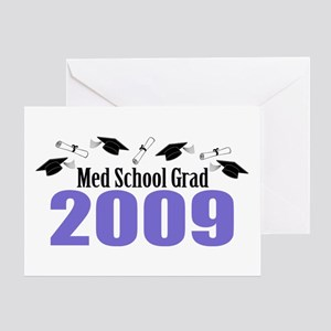 Med School Grad 2009 (Purple Caps And Diplomas) Gr