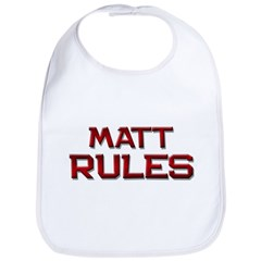 matt rules Bib