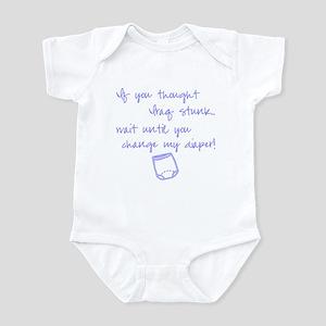 BLUE IRAQ STINK Infant Bodysuit