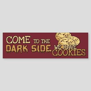 Come To The Dark Side Bumper Sticker