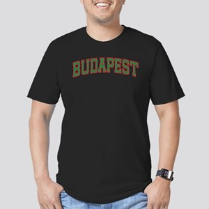 Budapest Colors Men's Fitted T-Shirt (dark)
