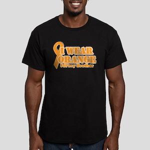I wear orange brother Men's Fitted T-Shirt (dark)