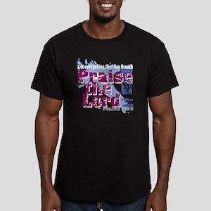 Psalms 150:6 Men's Fitted T-Shirt (dark)