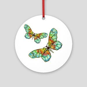 Art Nouveau Butterfly Ornament or Necklace Pendant