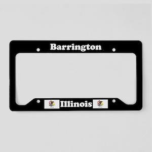 Barrington, IL License Plate Holder