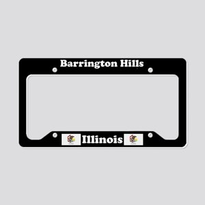 Barrington Hills, IL License Plate Holder