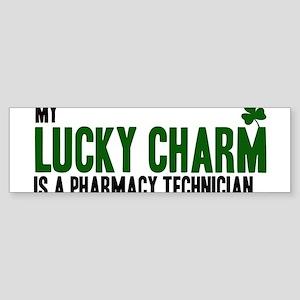 Pharmacy Technician lucky cha Bumper Sticker