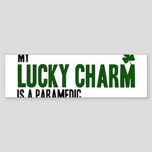 Paramedic lucky charm Bumper Sticker