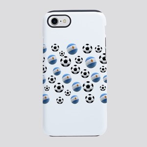 Argentina Soccer Balls iPhone 7 Tough Case