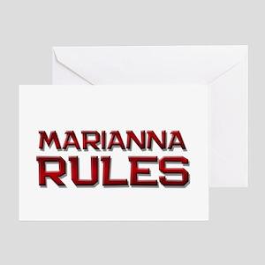 marianna rules Greeting Card