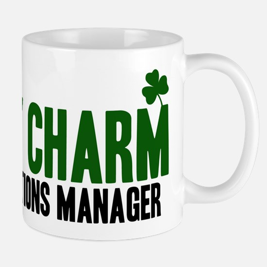 Operations Manager lucky char Mug