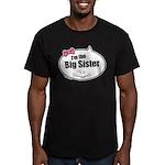 Big Sister Men's Fitted T-Shirt (dark)