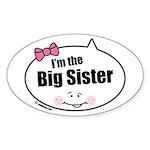 Big Sister Oval Sticker (50 pk)