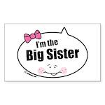 Big Sister Rectangle Sticker 10 pk)