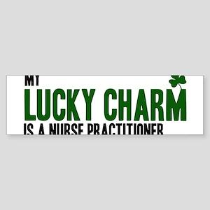 Nurse Practitioner lucky char Bumper Sticker