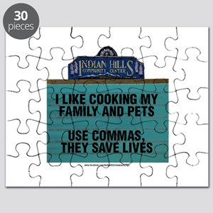 I Like Cooking My Family and Pets Puzzle