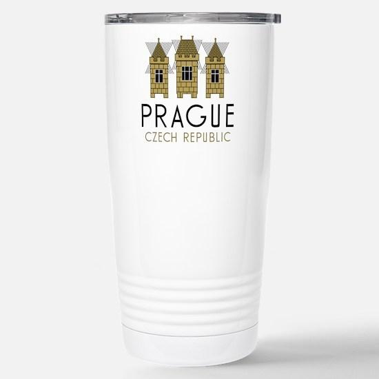 Prague Stainless Steel Travel Mug