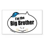 Big Brother Rectangle Sticker 50 pk)