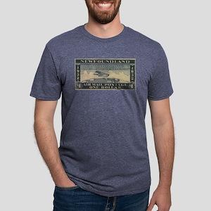 Newfoundland $1 airmail White T-Shirt