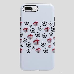 England Soccer Balls iPhone 7 Plus Tough Case