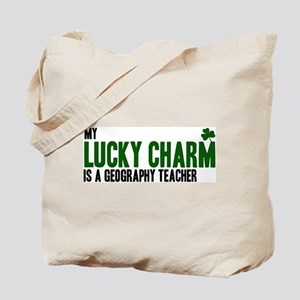 Geography Teacher lucky charm Tote Bag