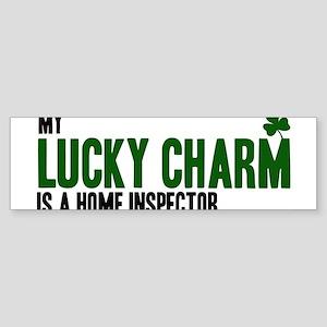 Home Inspector lucky charm Bumper Sticker