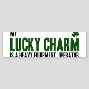 Heavy Equipment Operator luc Bumper Sticker