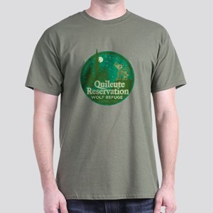Quileute Wolf Refuge Dark T-Shirt