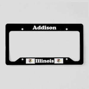 Addison, IL License Plate Holder