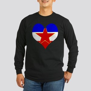 I Love Yugoslavia Long Sleeve Dark T-Shirt